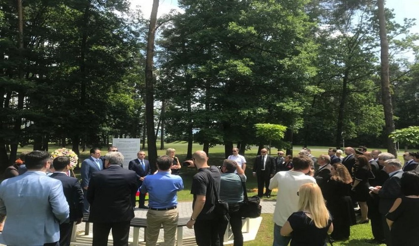 Opening ceremony of memorial plaque dedicated to victims of Khojaly genocide was held in Slovenia