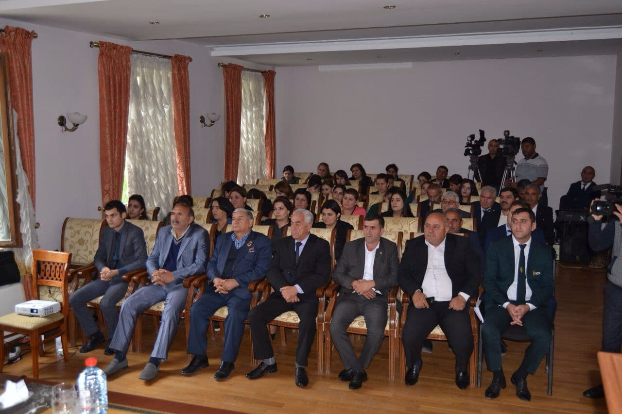 Public discussion was held dedicated to the 10th anniversary of the Council's activity in Barda