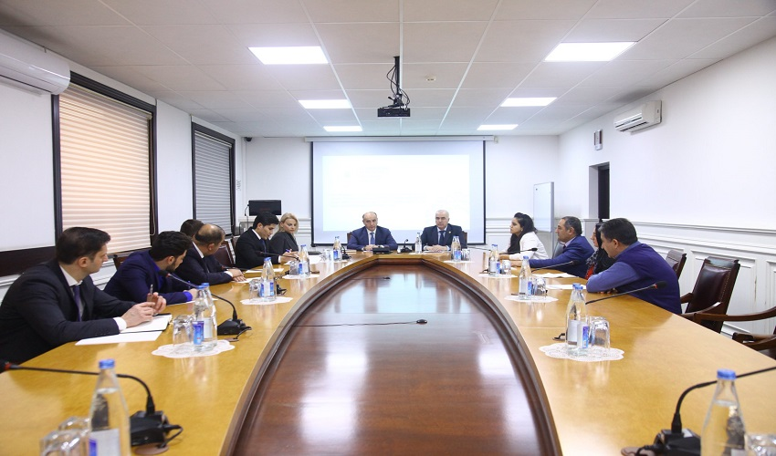 Information session was held in the Ministry of Economy