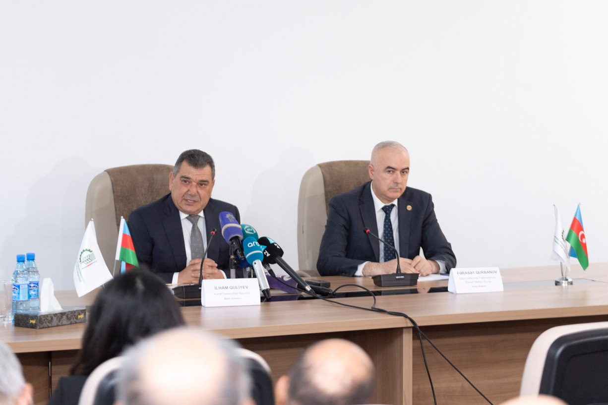 Information session was held in the Ministry of Agriculture