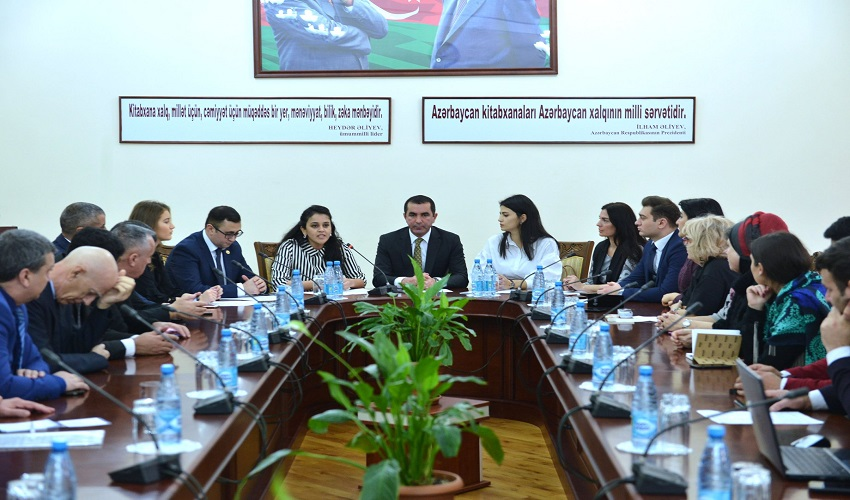 Information session was held in the Ministry of Culture on joint grant competition