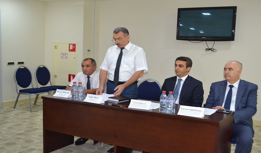 The Council held a regional conference on NGO-government relations in Mingachevir